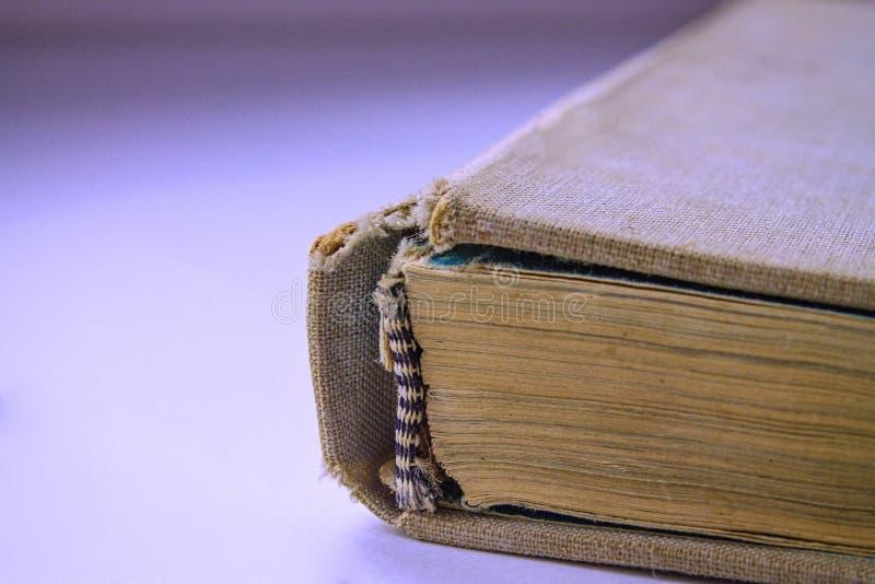 A espinha do livro imagem de stock