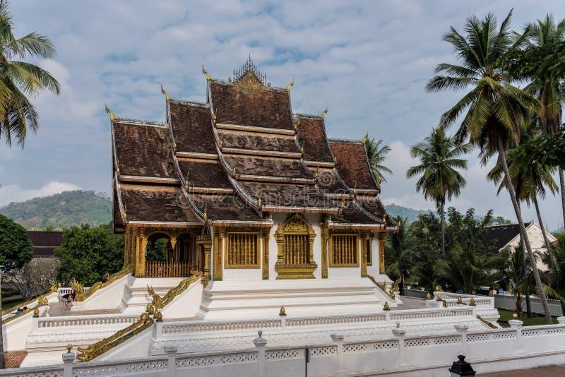 Espinho kham de Royal Palace em Luang Prabang, Laos, Ásia fotografia de stock