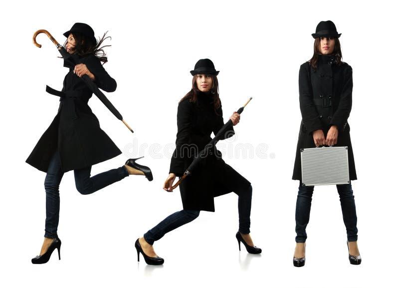 espion de mode photographie stock