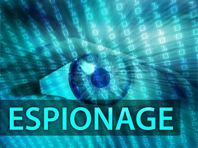 Download Espionage illustration stock illustration. Image of blue - 7069967