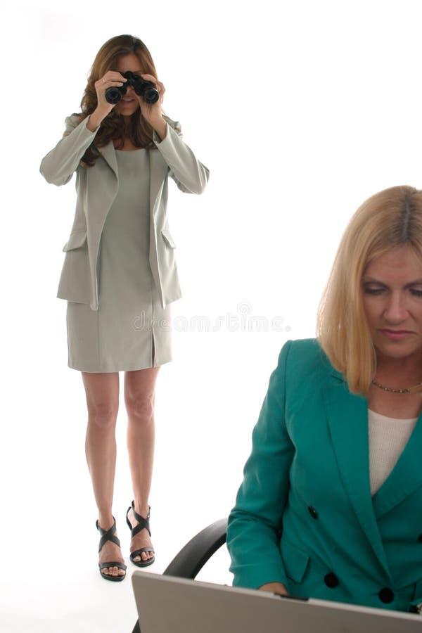 Espionnage de corporation 3 photos libres de droits
