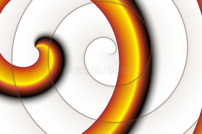 Espiral. imagem de stock royalty free