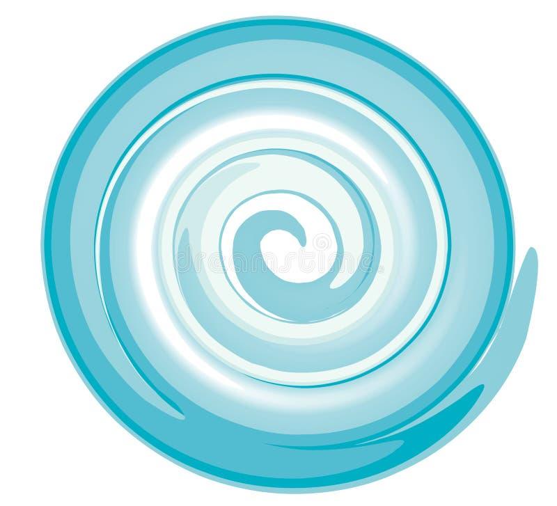 Espiral ilustração royalty free