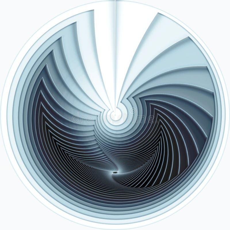 Espiral stock de ilustración