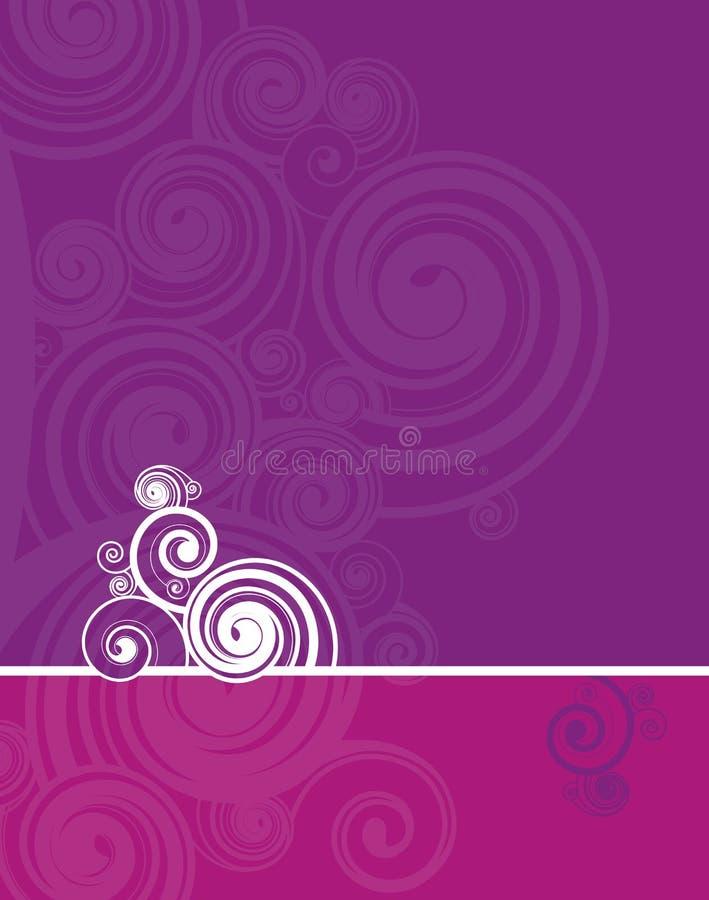 Espiral ilustração stock