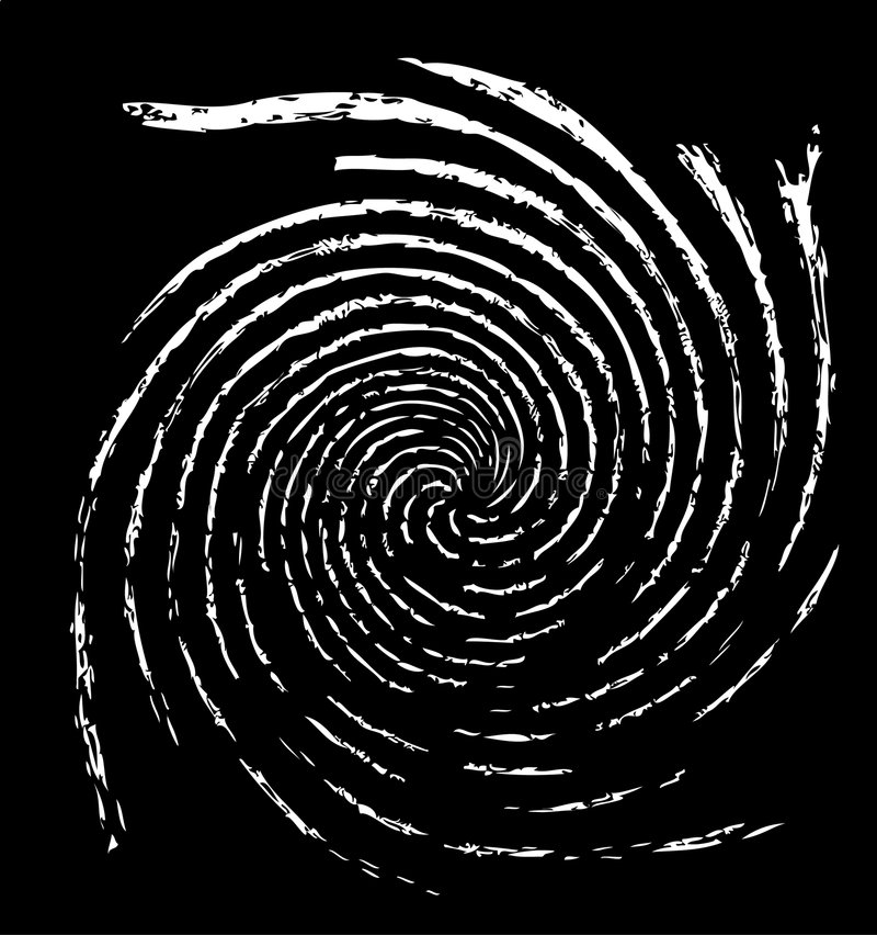 Espiral foto de archivo