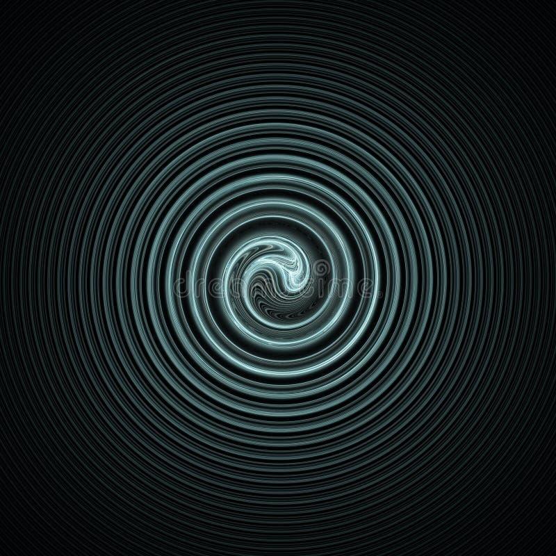 Espiral abstrata ilustração do vetor