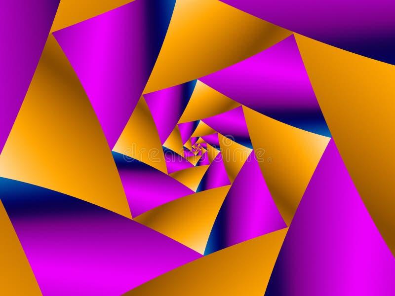 Espiral acodado libre illustration