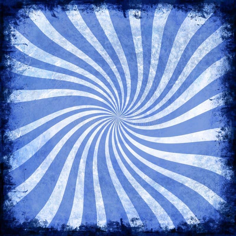 Espiral azul foto de archivo libre de regalías