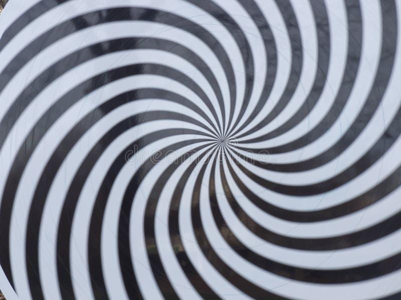 Espiral da hipnose ilustração stock