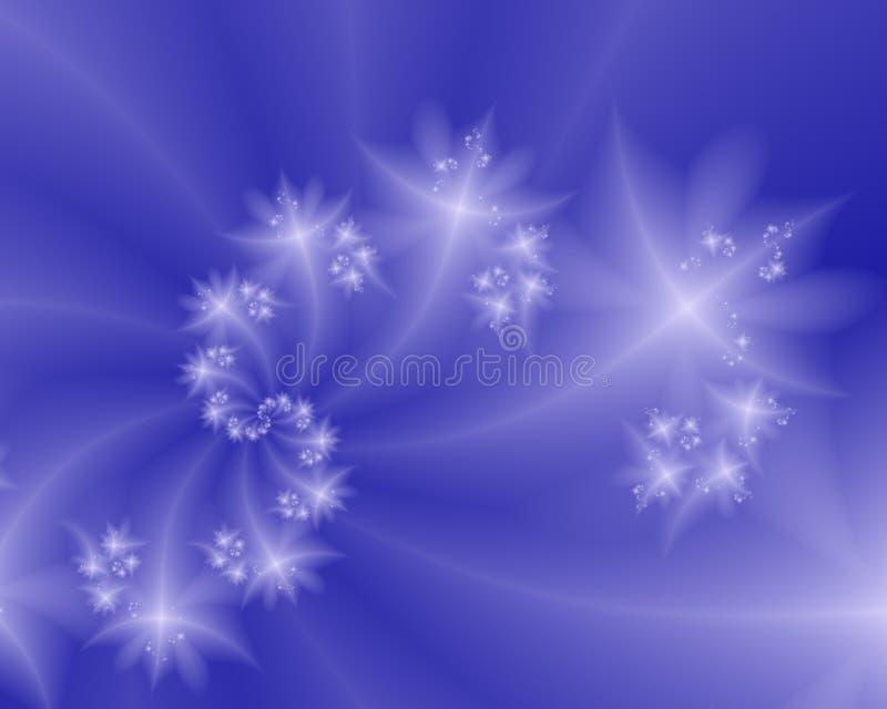 Espiral das estrelas ilustração stock
