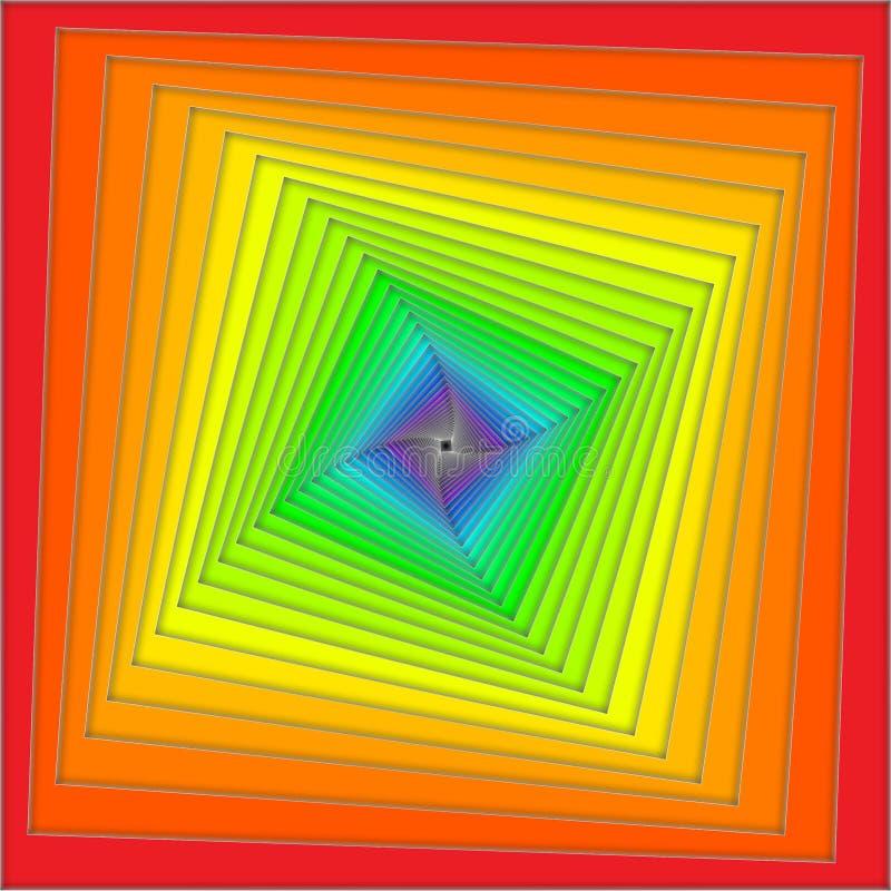 Espiral del arco iris libre illustration