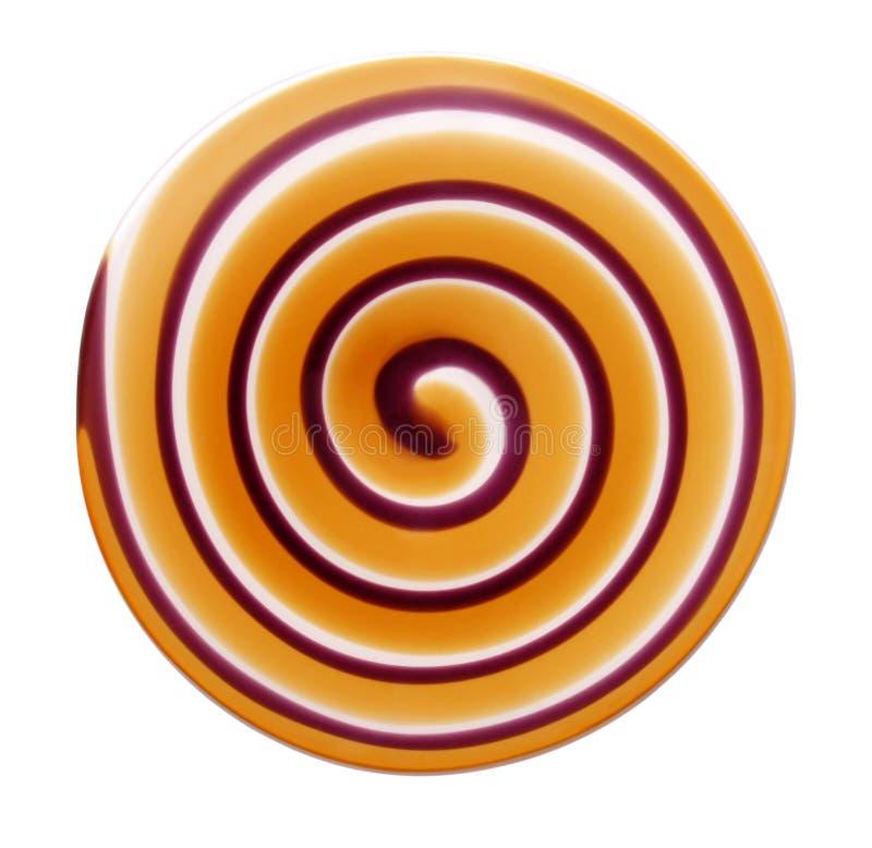Espiral del disco imágenes de archivo libres de regalías