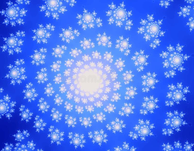 Espiral del fractal fotos de archivo libres de regalías