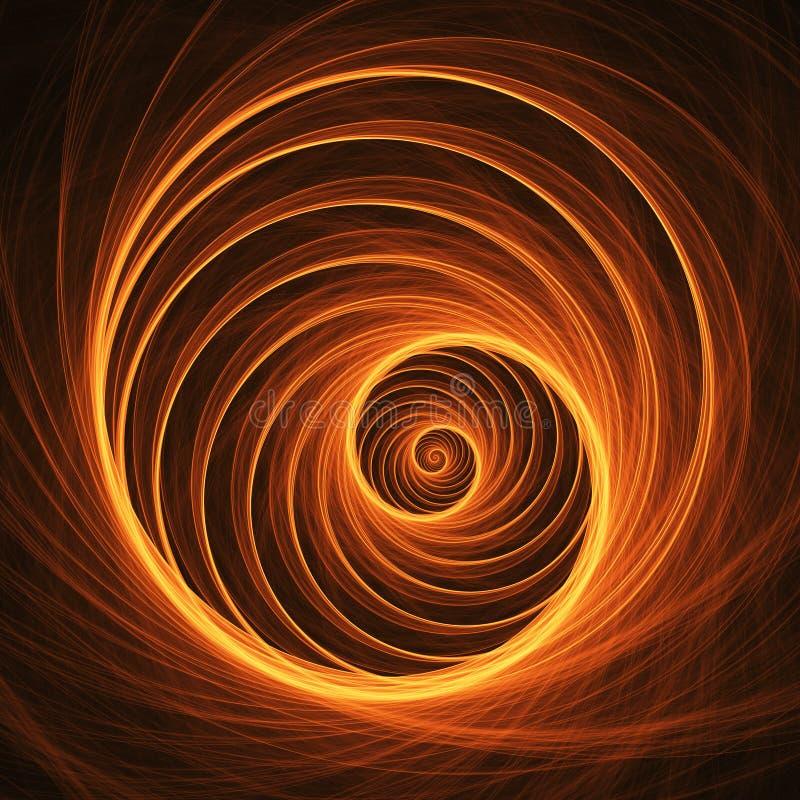 Espiral del Web ilustración del vector