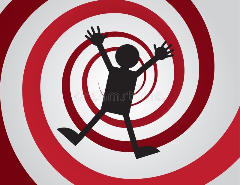 Espiral descendente libre illustration