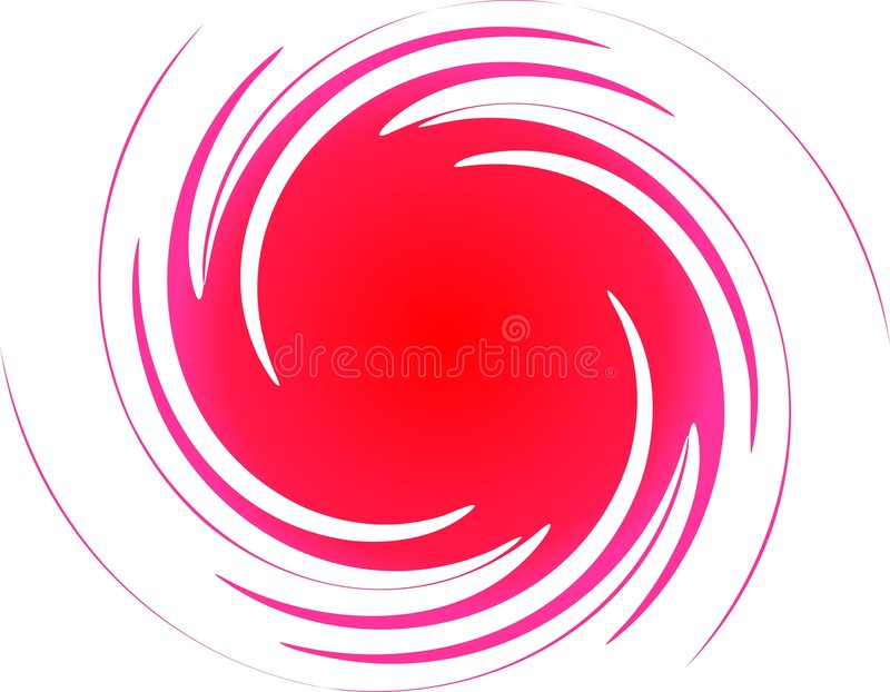 Espiral do amor ilustração royalty free