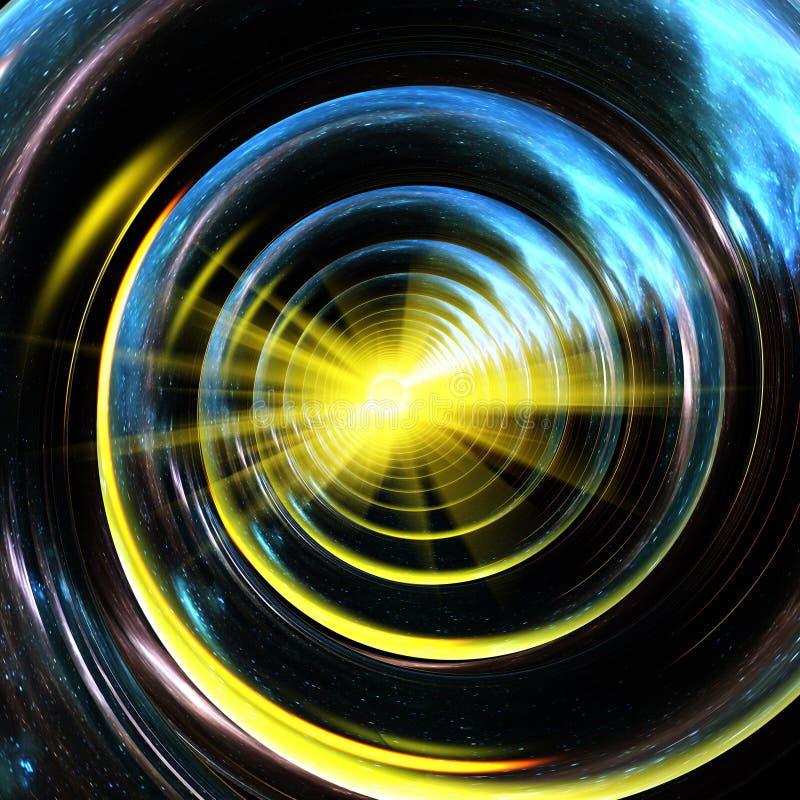 Espiral do universo ilustração royalty free