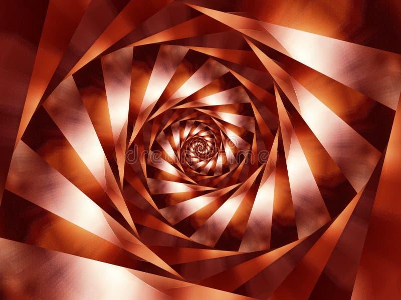 A espiral listra o fundo imagem de stock