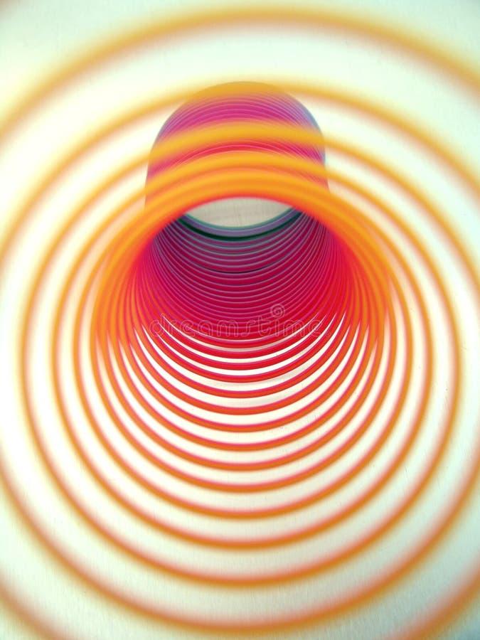 Espirales del color fotografía de archivo