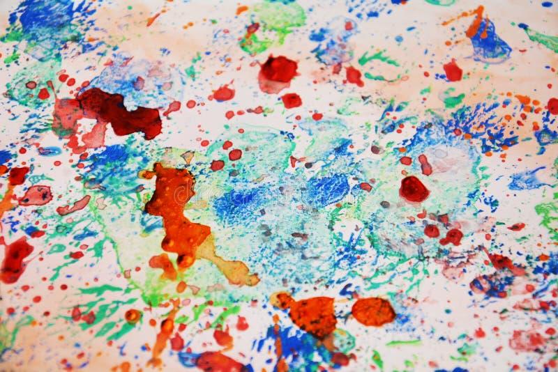 Espirra o fundo macio, textura colorida do sumário fotografia de stock royalty free