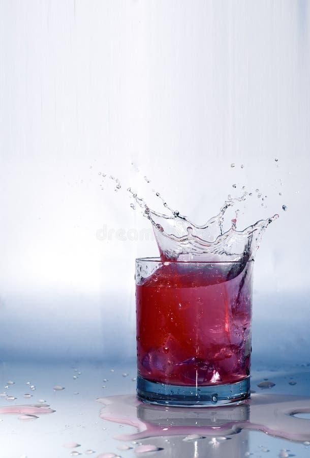 Espirro do suco de fruta imagens de stock royalty free