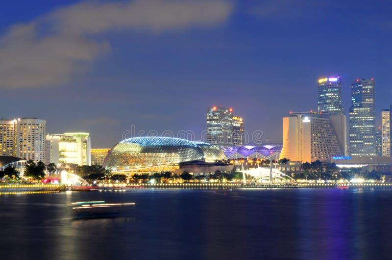 esplanada Singapore zdjęcia royalty free
