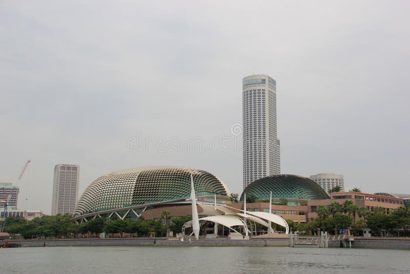 Esplanade ή θέατρα στον κόλπο στοκ φωτογραφία με δικαίωμα ελεύθερης χρήσης