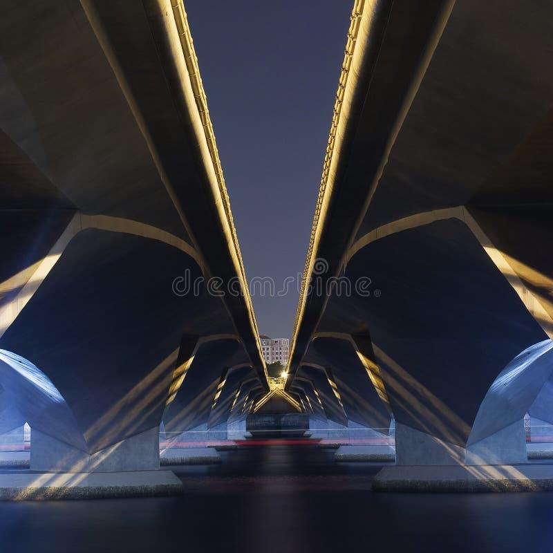 Esplanade-Brücke lizenzfreies stockfoto