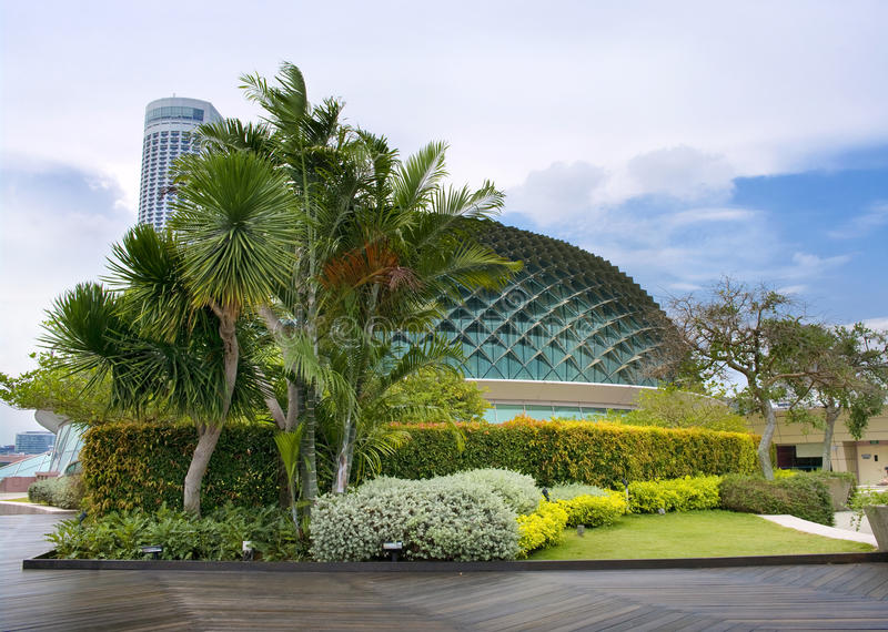 Download Esplanade concert hall stock image. Image of singapore - 23172923