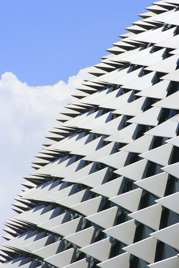 Esplanade, Singapour image libre de droits