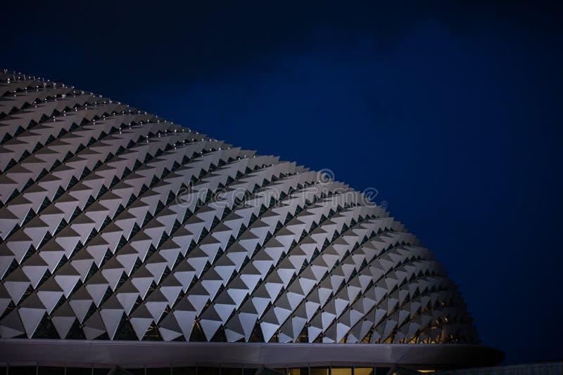 Esplanade Singapur lizenzfreie stockfotografie
