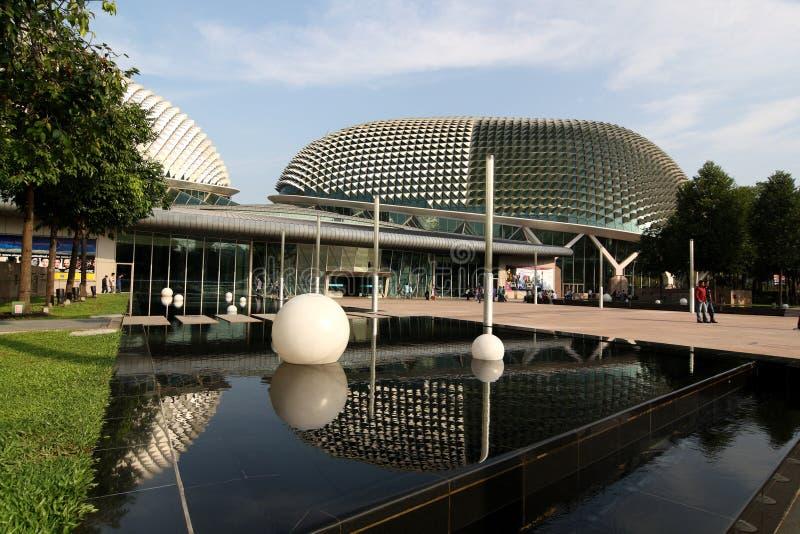 The Esplanade Theatre, Singapore stock image