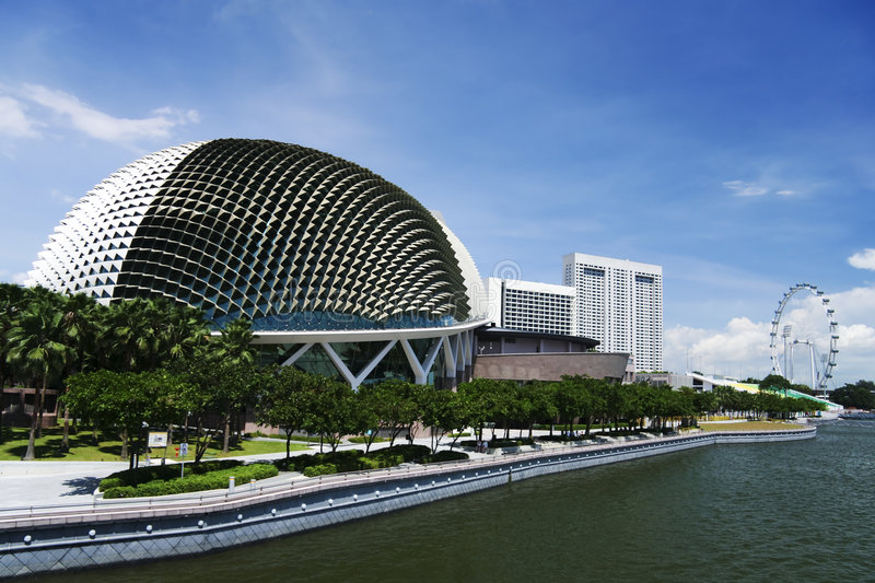Esplanade theatres on the bay singapore