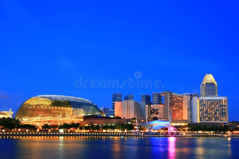 esplanady jawny Singapore theatre zdjęcie royalty free