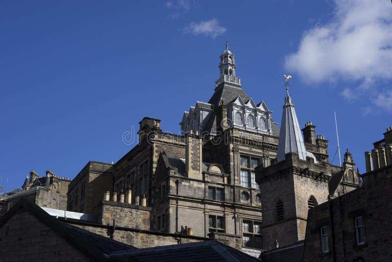 Esplendor medieval del castillo de Stirling fotos de archivo
