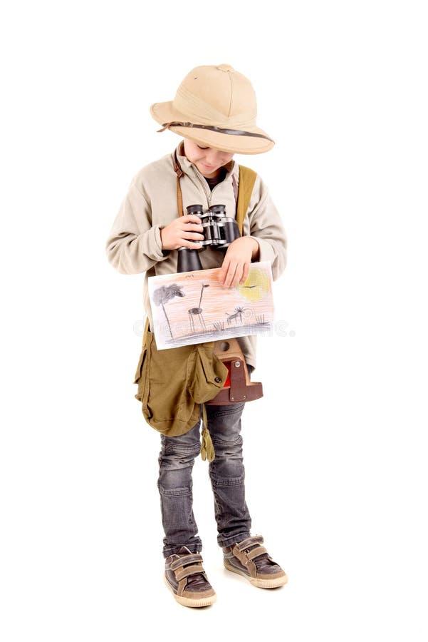 esploratore fotografie stock