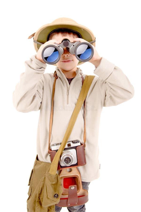 esploratore fotografia stock