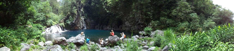 Esplorazione ? ???? Riunione [La Riunione] (Francia) | ???? Natura fotografia stock