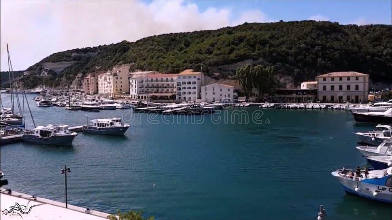 Esplorazione ? 9 ???? viaggio in barca e#x28;Bonifacio) {Corsica - Corsa} ???? città/natura fotografie stock