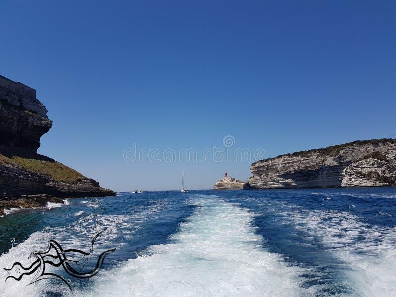 Esplorazione ?| Corsica - Corse (Sud) | ???? Natura/Città fotografia stock libera da diritti