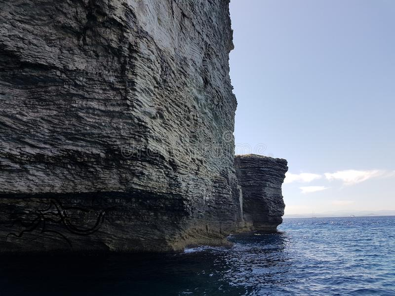 Esplorazione ?| Corsica - Corse (Sud) | ???? Natura/Città fotografia stock