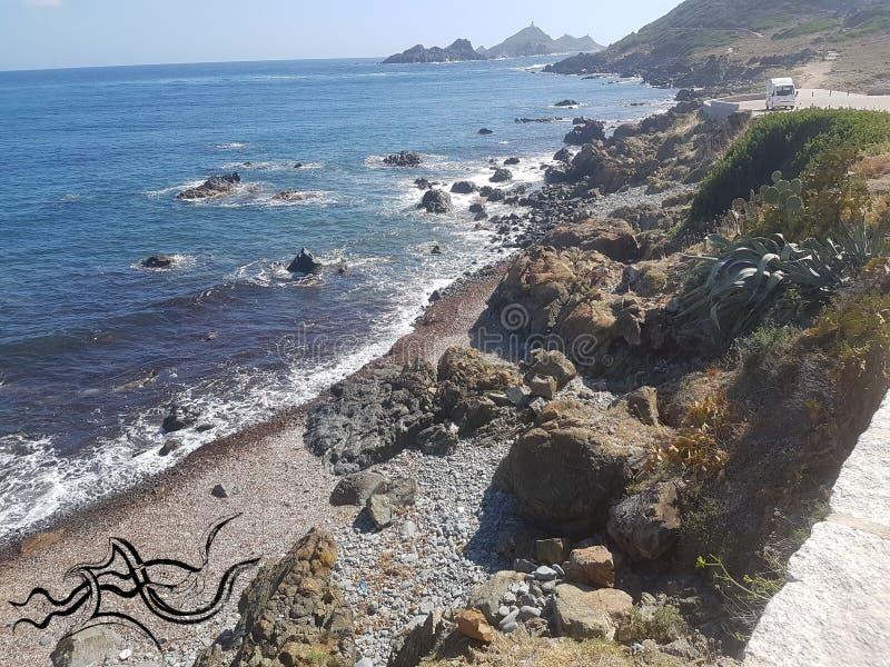 Esplorazione ?| Corsica - Corse (Sud) | ???? Natura/Città immagine stock libera da diritti