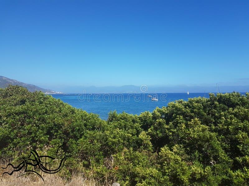 Esplorazione ?| Corsica - Corse (Sud) | ???? Natura/Città fotografie stock libere da diritti