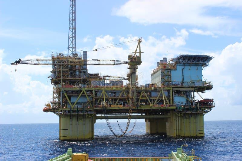Esplorazione del gas & del petrolio fotografie stock libere da diritti