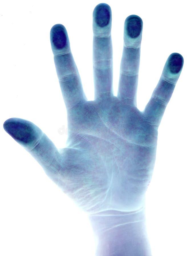 Esplorazione della mano immagini stock