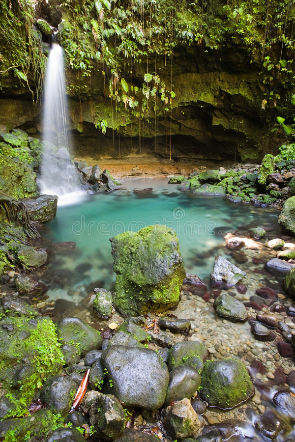 Esplorazioni del Dominica immagine stock