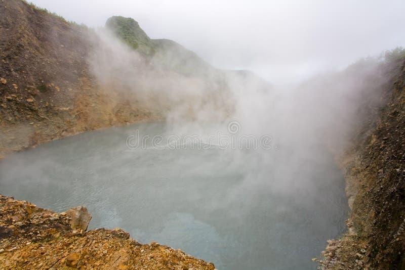 Esplorazioni del Dominica fotografia stock