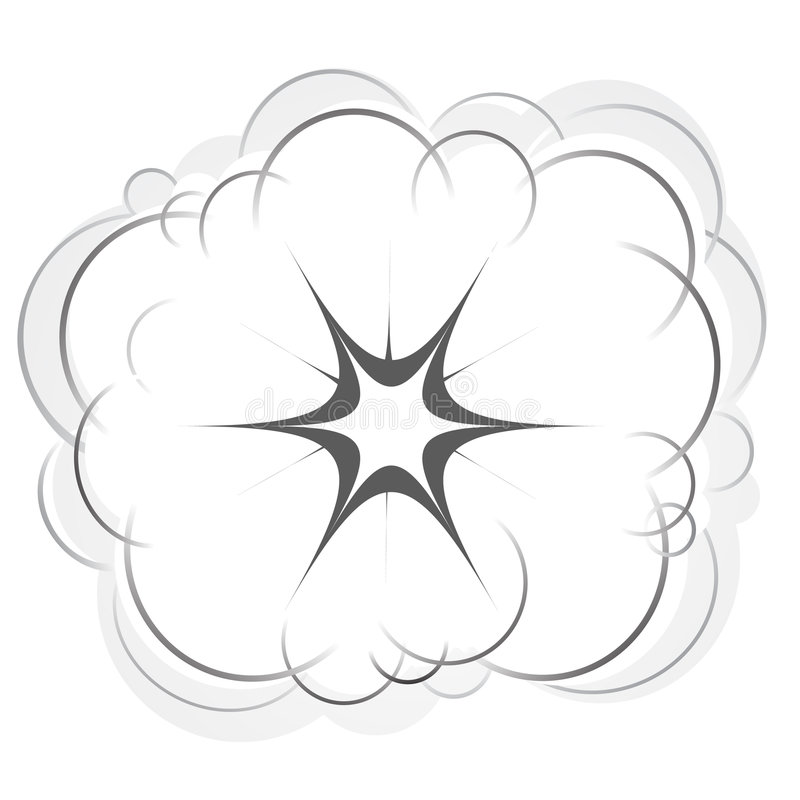 Esplosione royalty illustrazione gratis