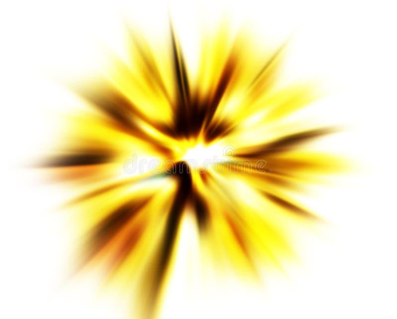 Esplosione illustrazione di stock